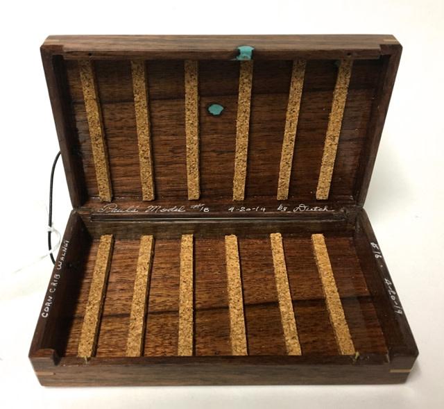 Dutch Box - Paul's Model #18 - Corn Crib Walnut