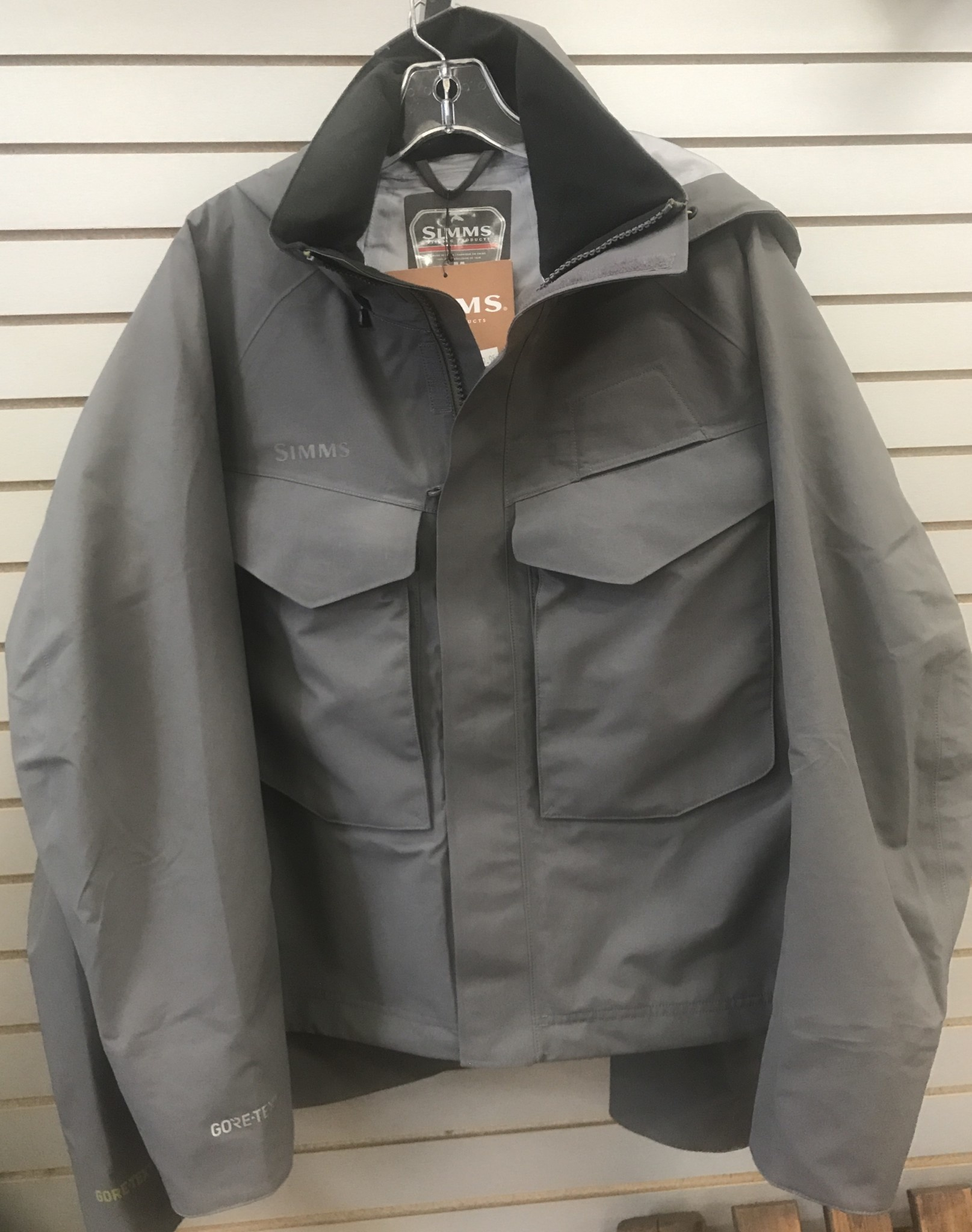 Simms Guide Jacket Iron 50% Off