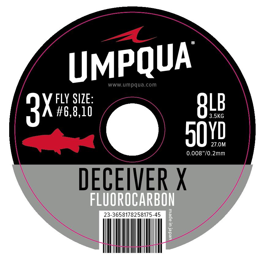 Umpqua Deceiver X Fluorocarbon Tippet 50yd Spool