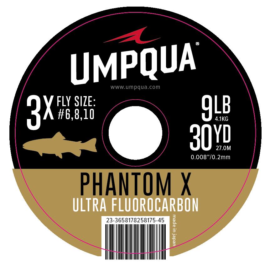 Umpqua Phantom X Fluorocarbon Tippet 30yd Spool