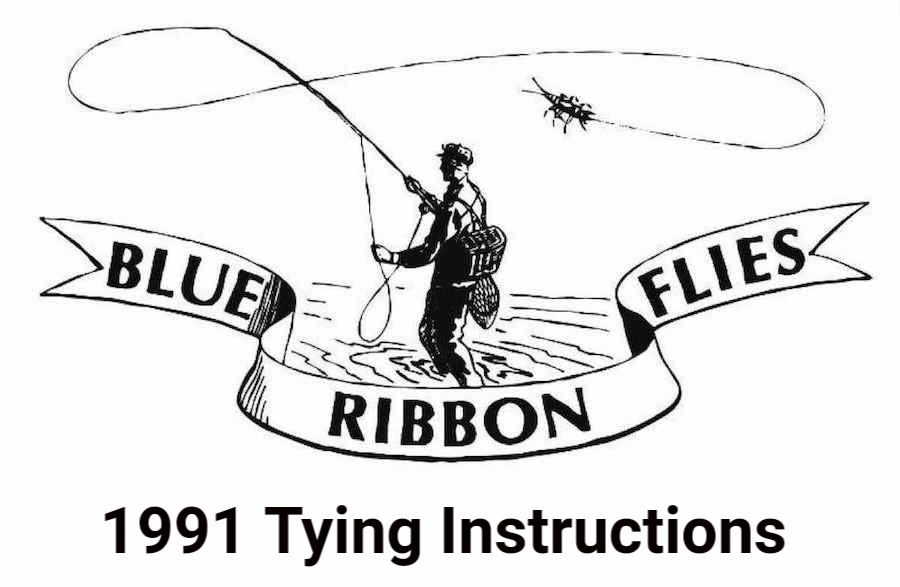 1991 Tying Instructions