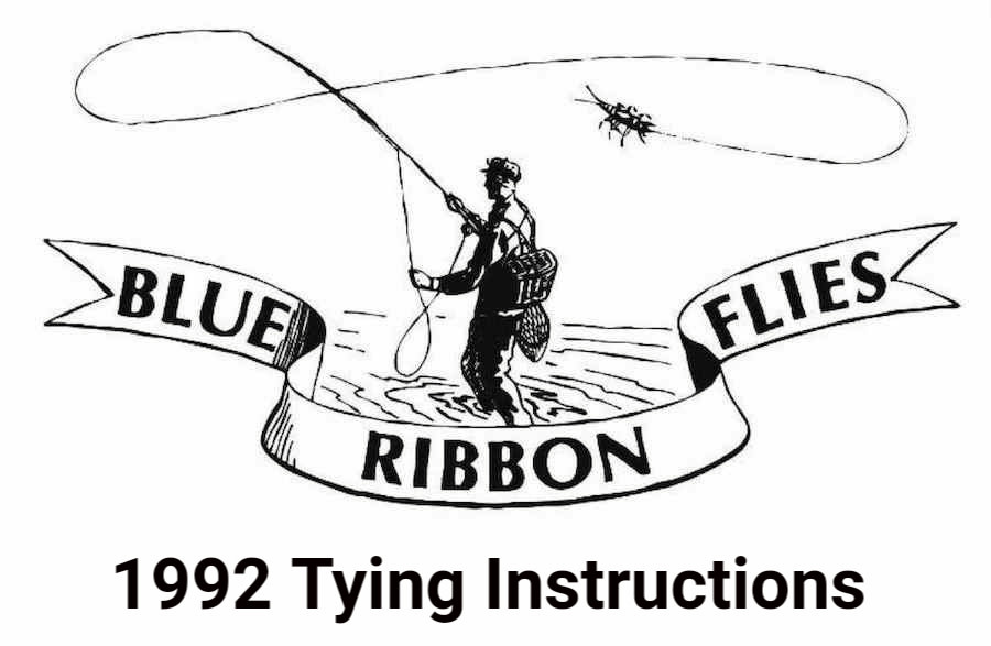 1992 Tying Instructions