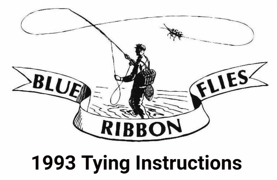 1993 Tying Instructions