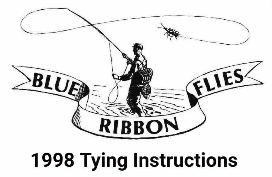 1998 Tying Instructions
