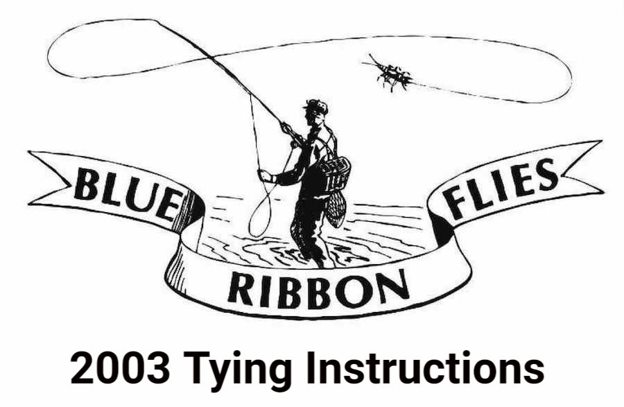 2003 Tying Instructions