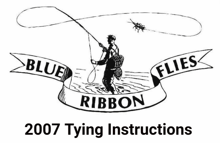 2007 Tying Instructions
