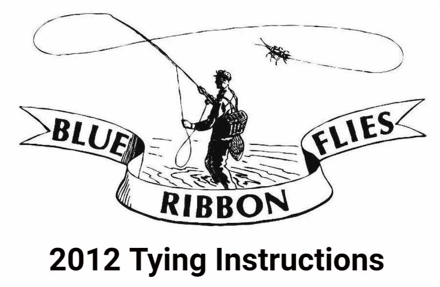 2012 Tying Instructions
