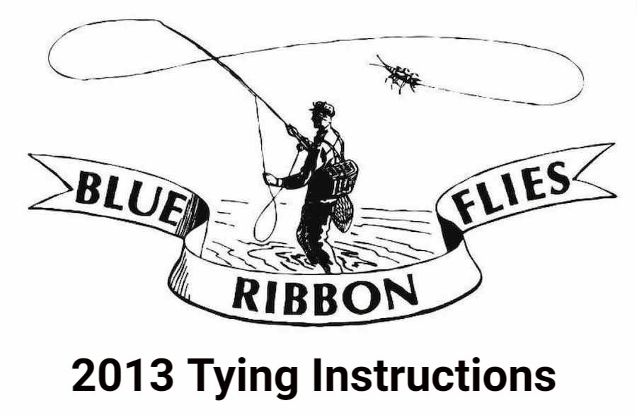 2013 Tying Instructions