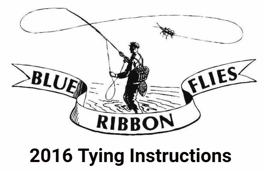 2016 Tying Instructions