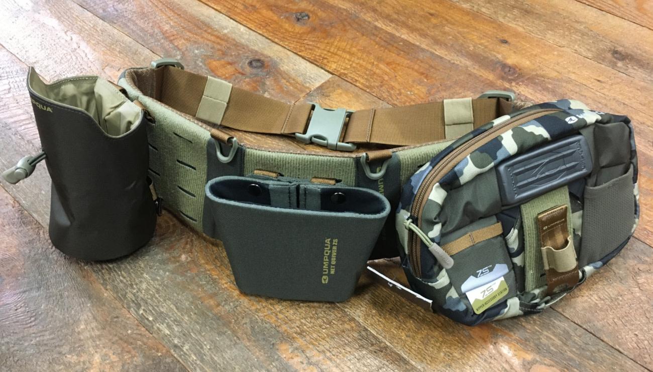Umpqua ZS2 Loaded Wader Belt Camo