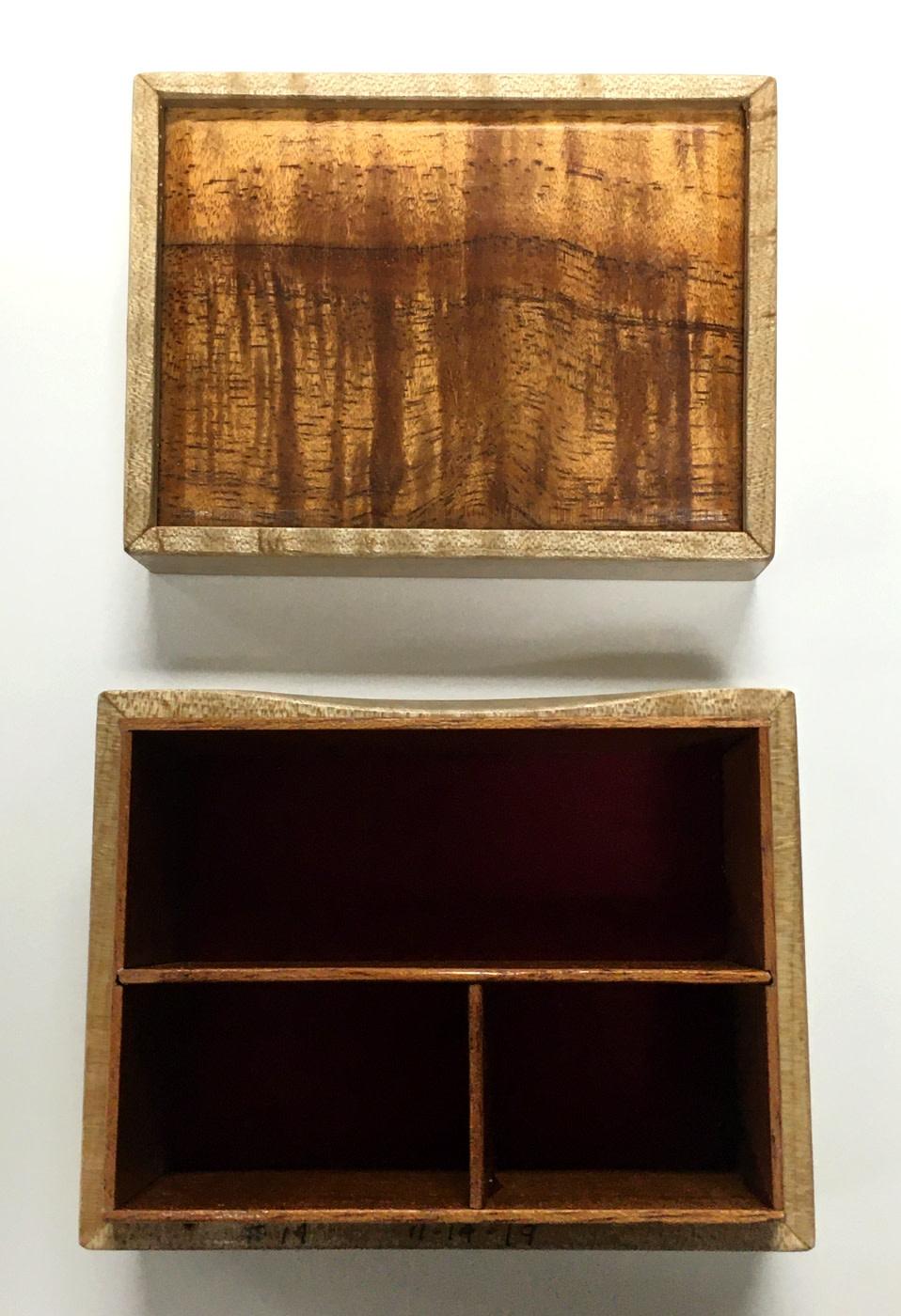Dutch Box - Sandy's Model #14 - Koa & Maple
