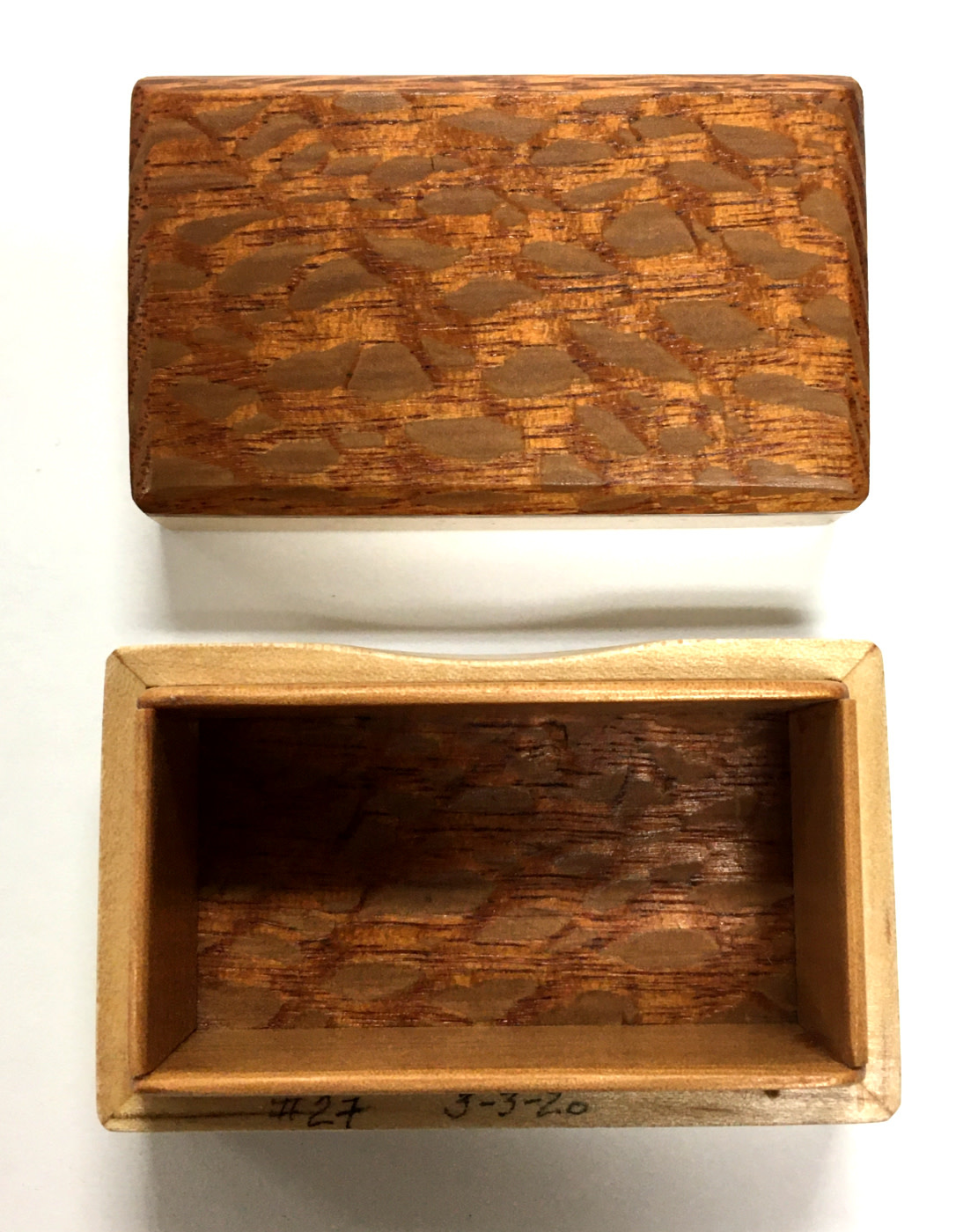 Dutch Box - Sandy's Model #27 - Lacewood & Maple