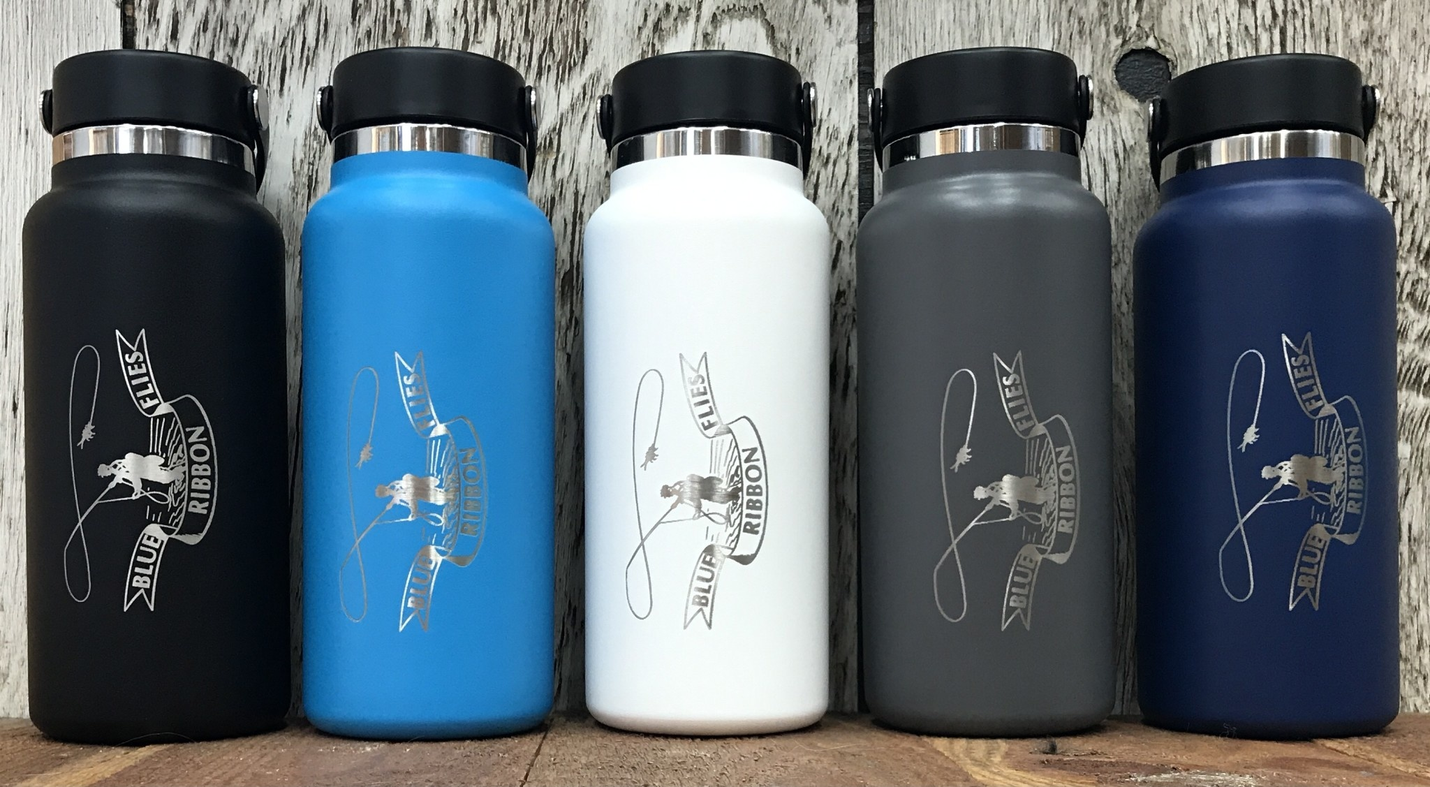 BRF Engraved Hydro Flask 32oz Wide Mouth Bottle