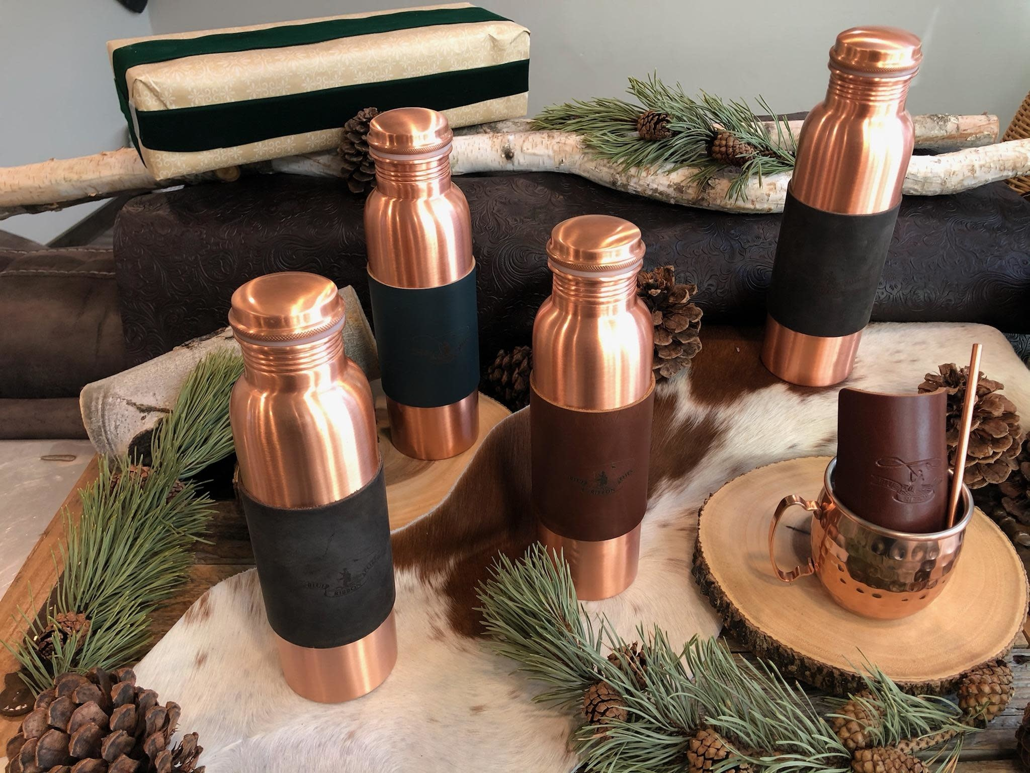 BRF Copper Water Bottle