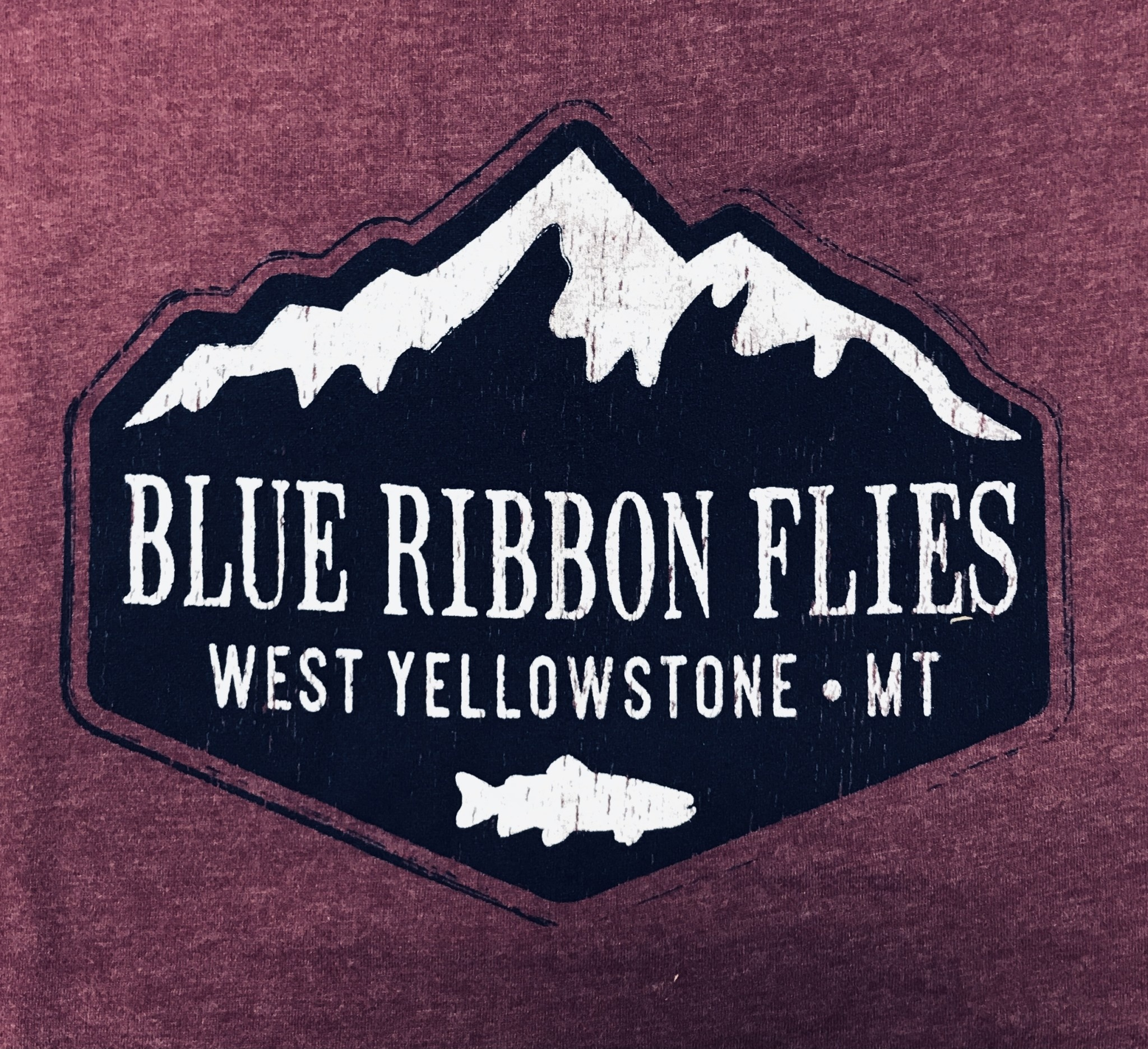 BRF Rugged Mountain Trout S/S Tee