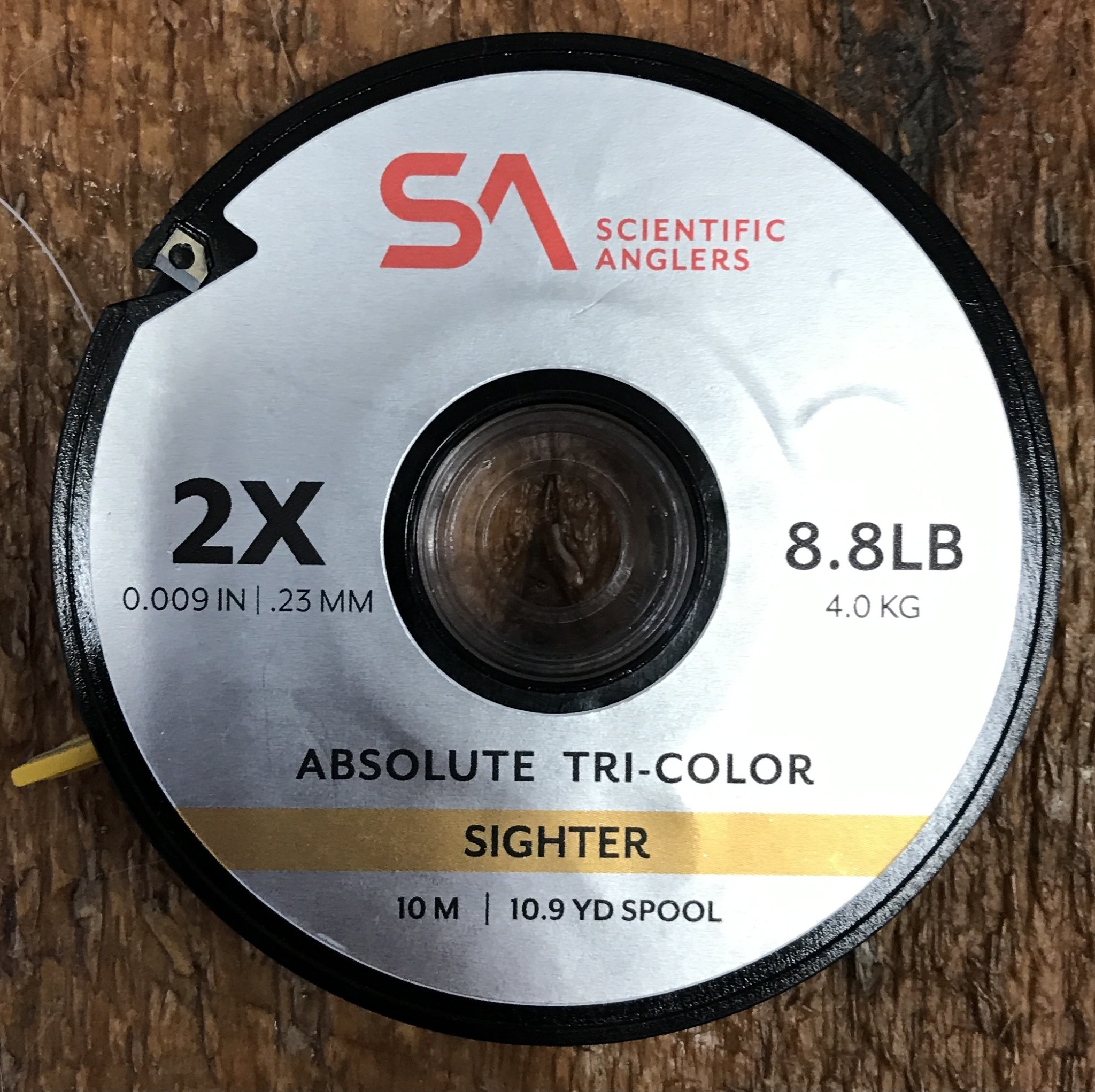 Scientific Anglers Absolute Tri-Color Sighter 10m Spool 2X