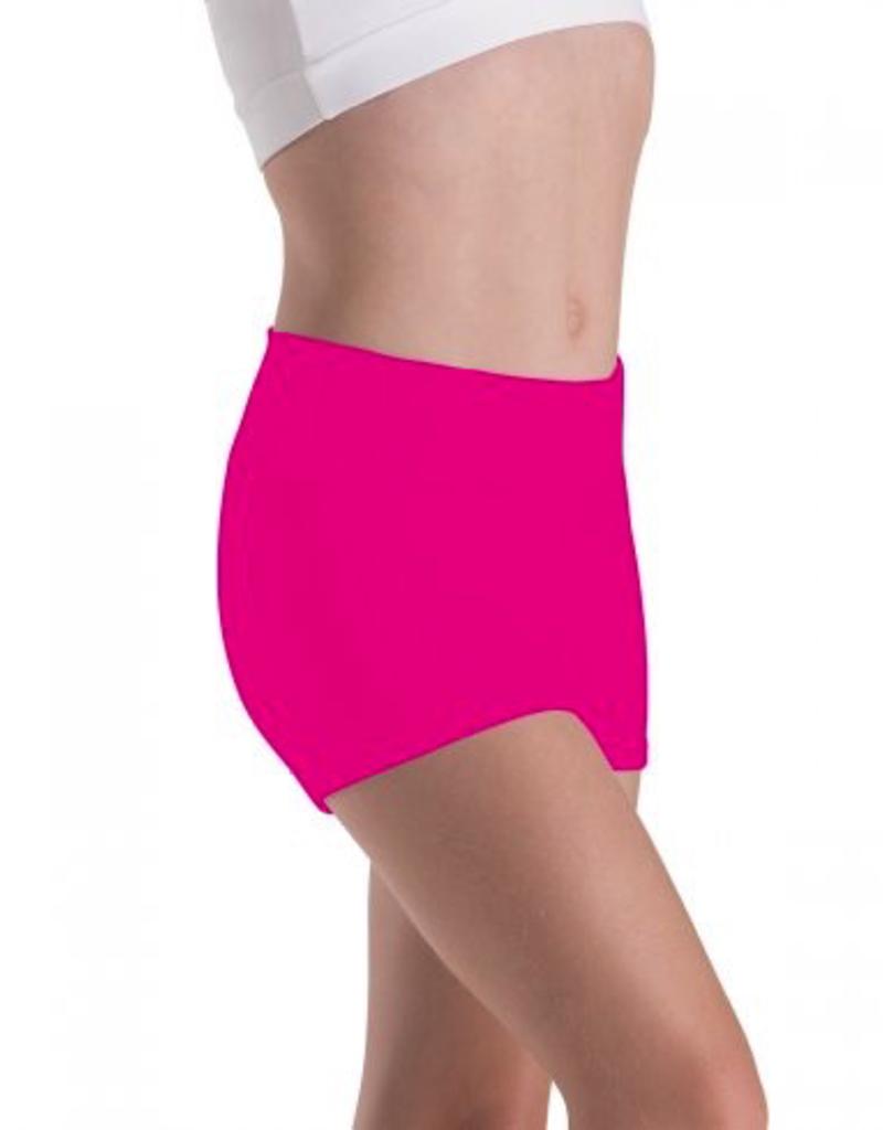 Motionwear 7022 High Waist Shorts Adult