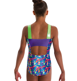 Motionwear 1312 Gymnastic Square Back Leotard