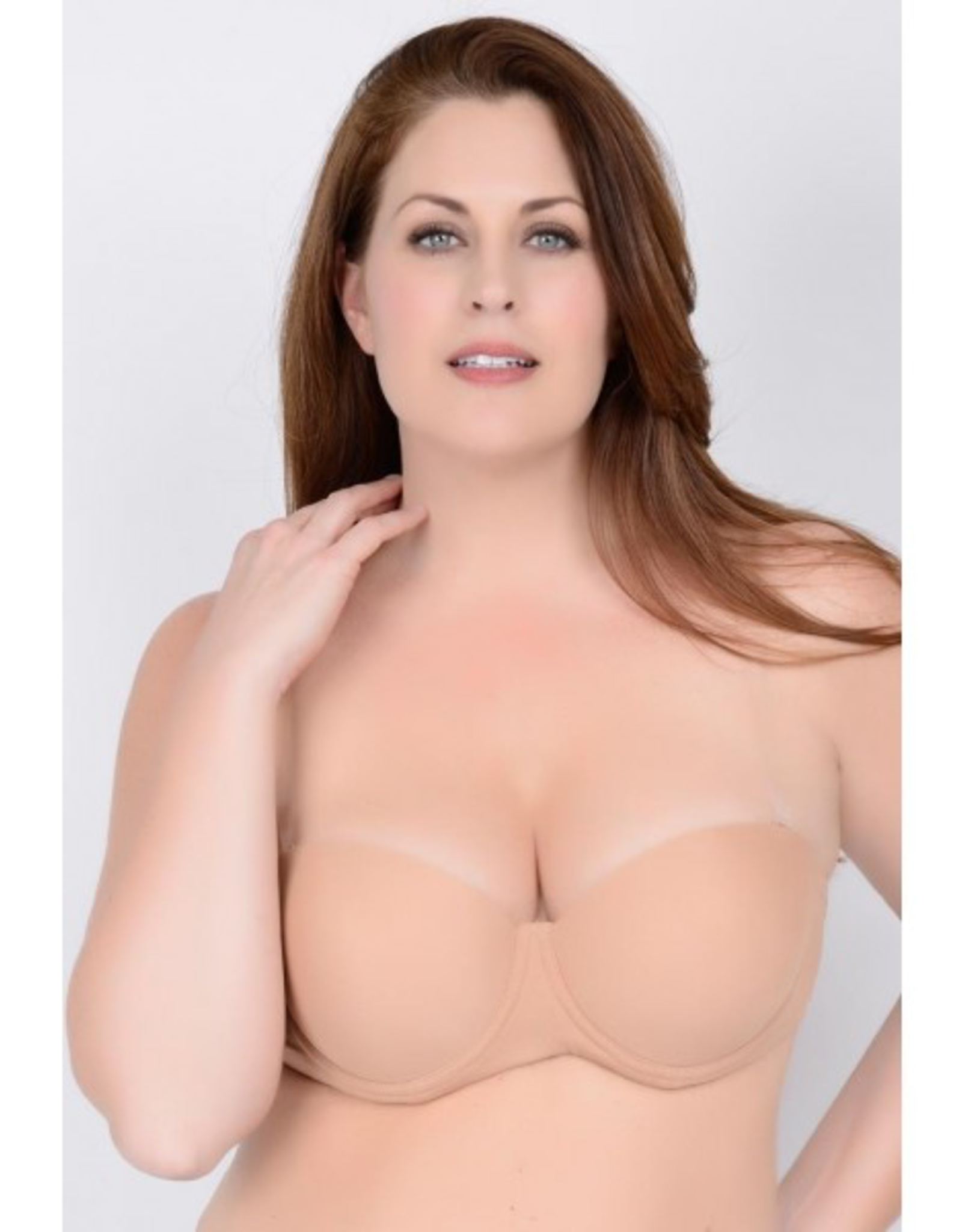QT Intimates 312 Clearly Hooked Bra Adult