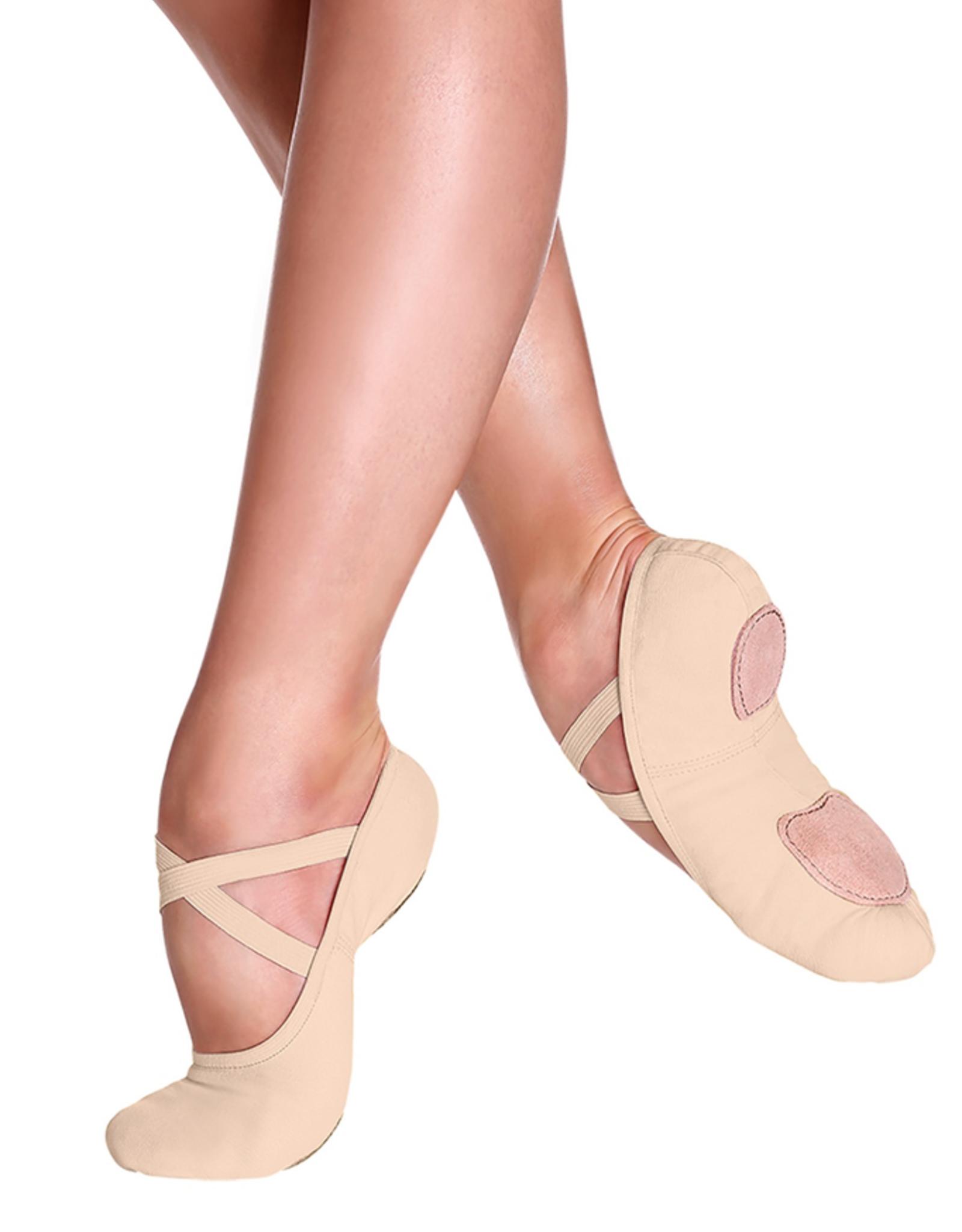 So Danca SD16L Sand/Nude Canvas Ballet Shoe Adult