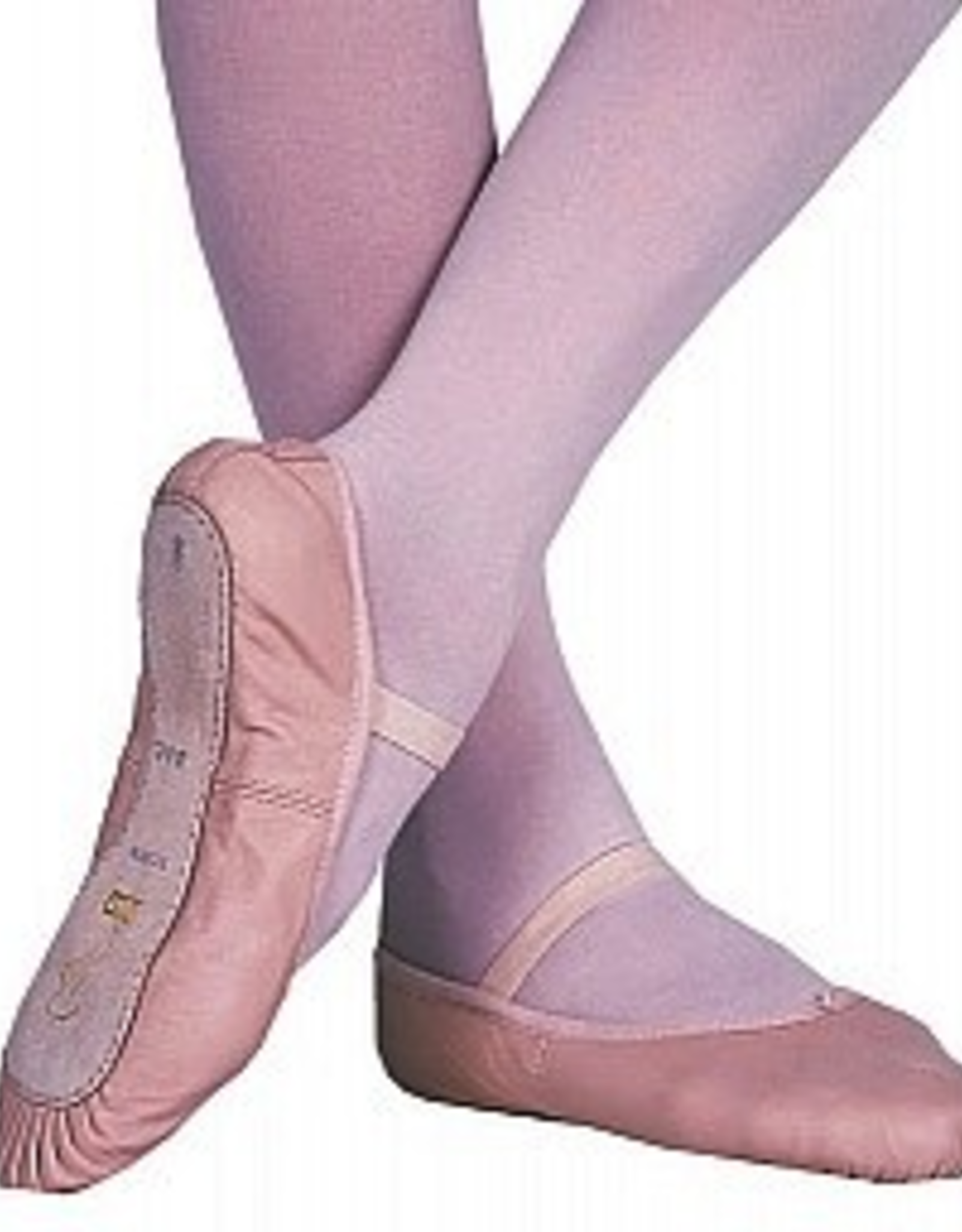 Bloch S0205L Pink Full Sole Leather Ballet Slipper Adult