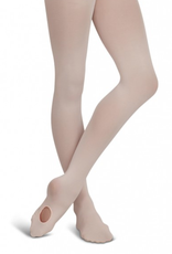 Capezio 1916X (2-6) Ultra Soft Self Knit Waistband Transition Tights Toddler