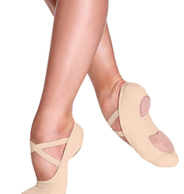 So Danca SD16S Nude Canvas Ballet Shoe Youth