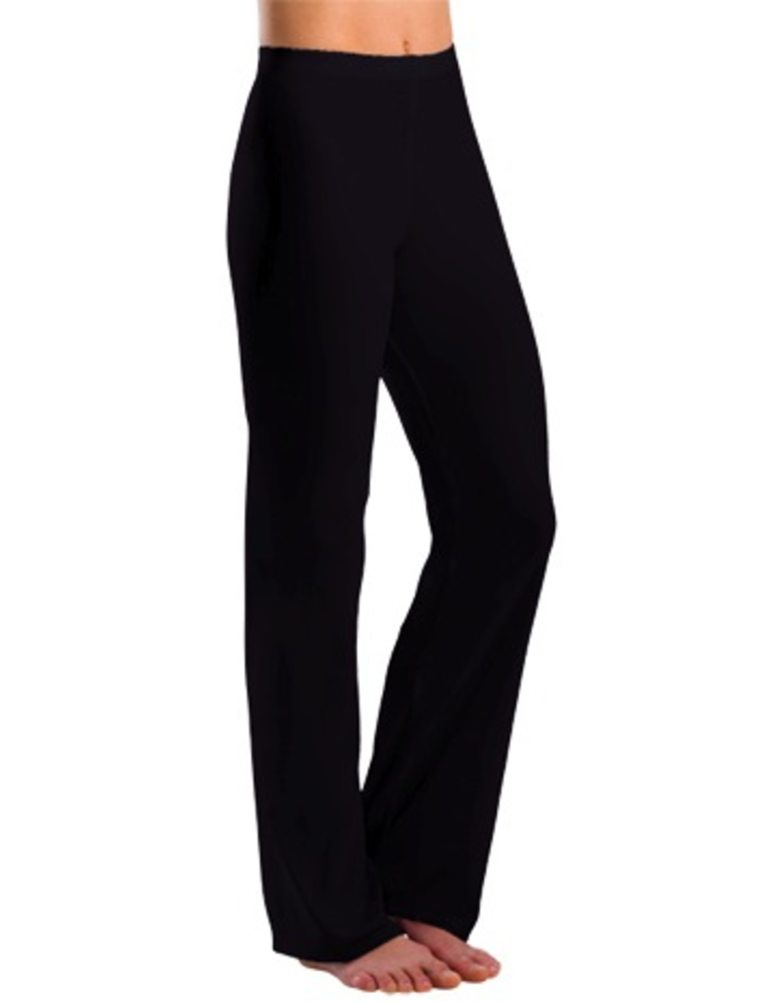 Motionwear 7152 Straight Waist Cotton Jazz Pants Adult