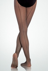 Bodywrappers C62 Fishnet Seamed Total Stretch Tights Youth
