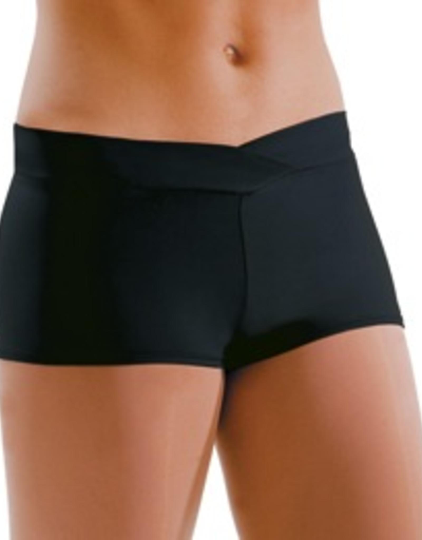 Motionwear 7121 V-Waist Shorts (1 3/4 in. Inseam) Adult