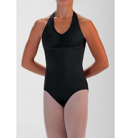 Motionwear 2897 Rhinestone Halter Leotard Youth