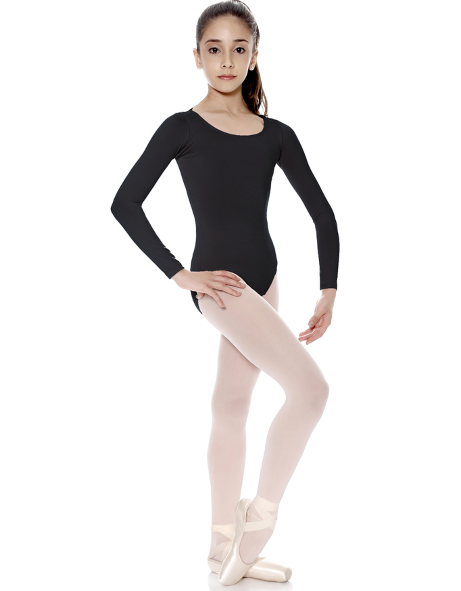 So Danca SL15 Long Sleeve Microfiber Leotard Youth