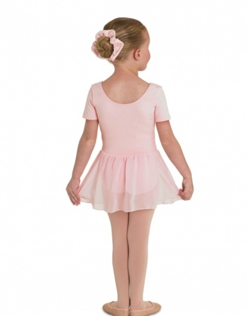Bloch CL5342 Short Sleeve Skirted Leotard Youth
