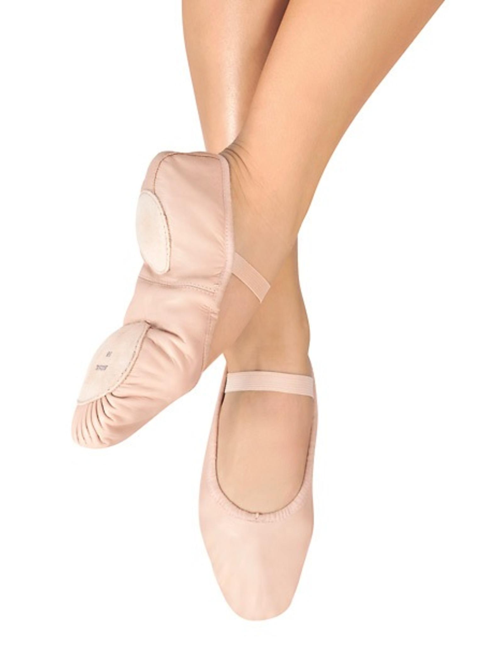 Bloch S0258L Split Sole Pink Leather Ballet Slipper Adult