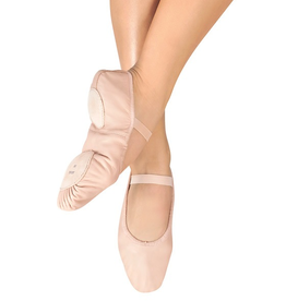 Bloch S0258L Split Sole Pink Leather Ballet Slipper Adult