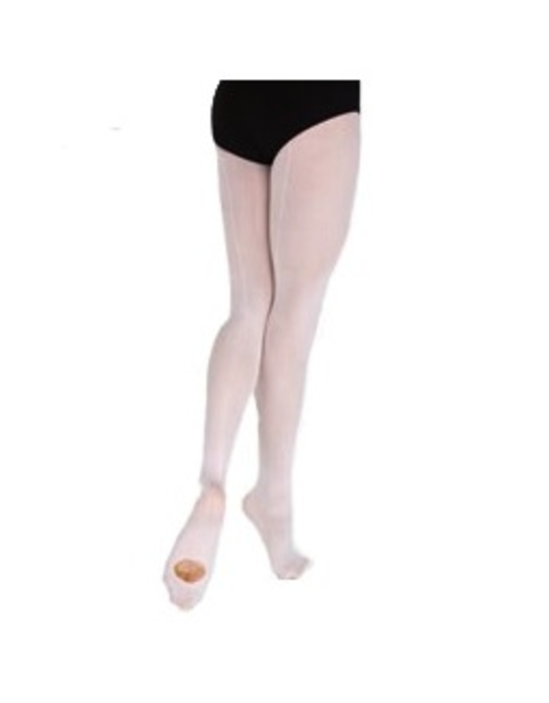 Bodywrappers A39 Microfiber Backseam Convertible Tights Adult