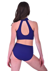 Purple Pixies Double Time Leotard Youth
