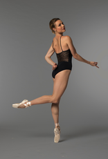 So Danca RDE-1716ME Sara Mearns Collection Spaghetti Strap Leotard with Lace Adult