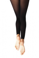 Capezio 1817C (8-12) Ultra Soft Footless Tights Youth