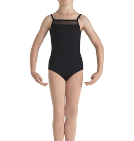 Bloch CL8710 Mesh Front Emb Back Cami Leo Youth