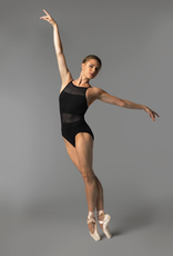 So Danca RDE-1712ME Sara Mearns Collection Cami Leotard with Lace Inserts Adult