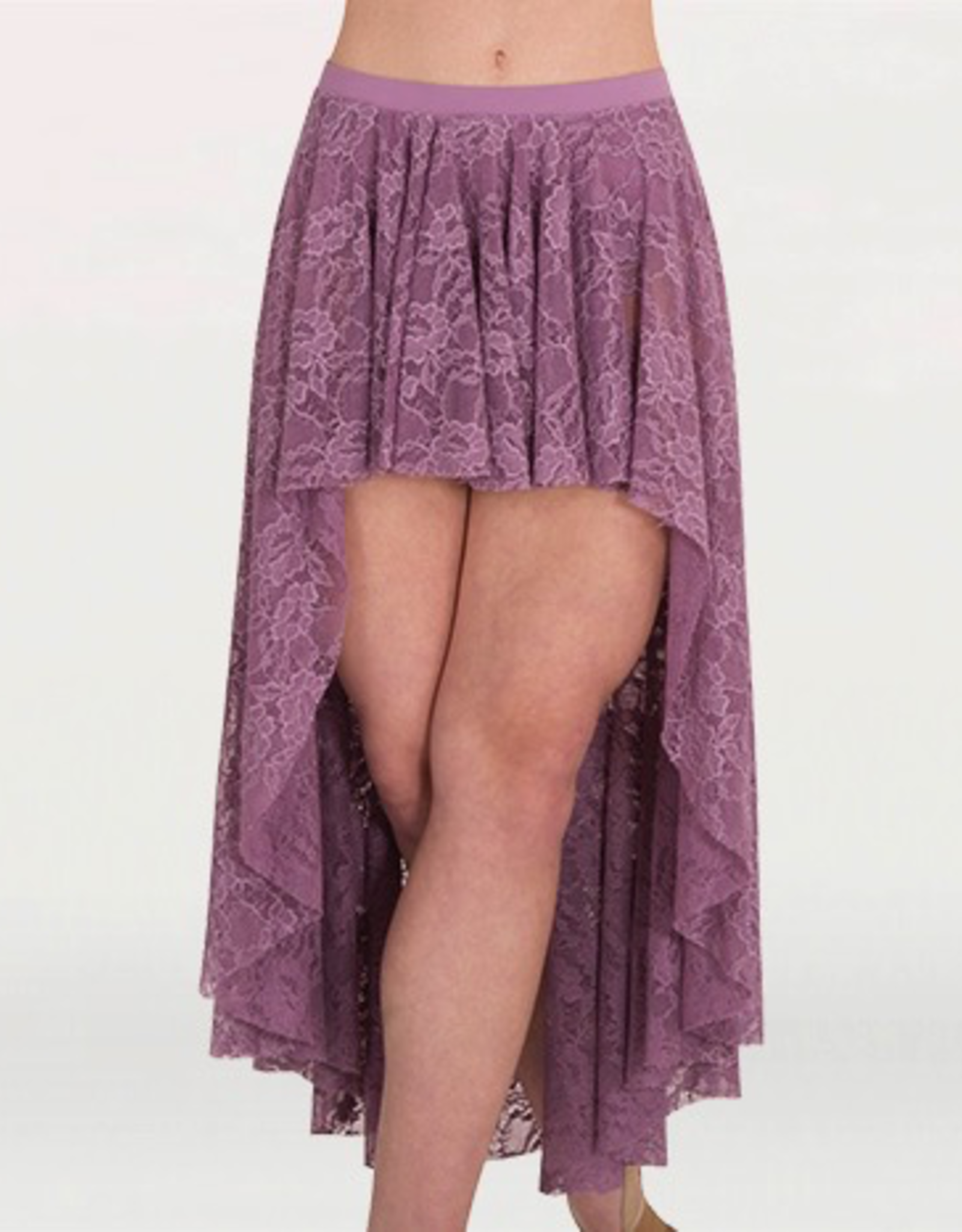 Bodywrappers High Lo Lace Skirt