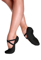 So Danca SD16L Black Canvas Ballet Shoe