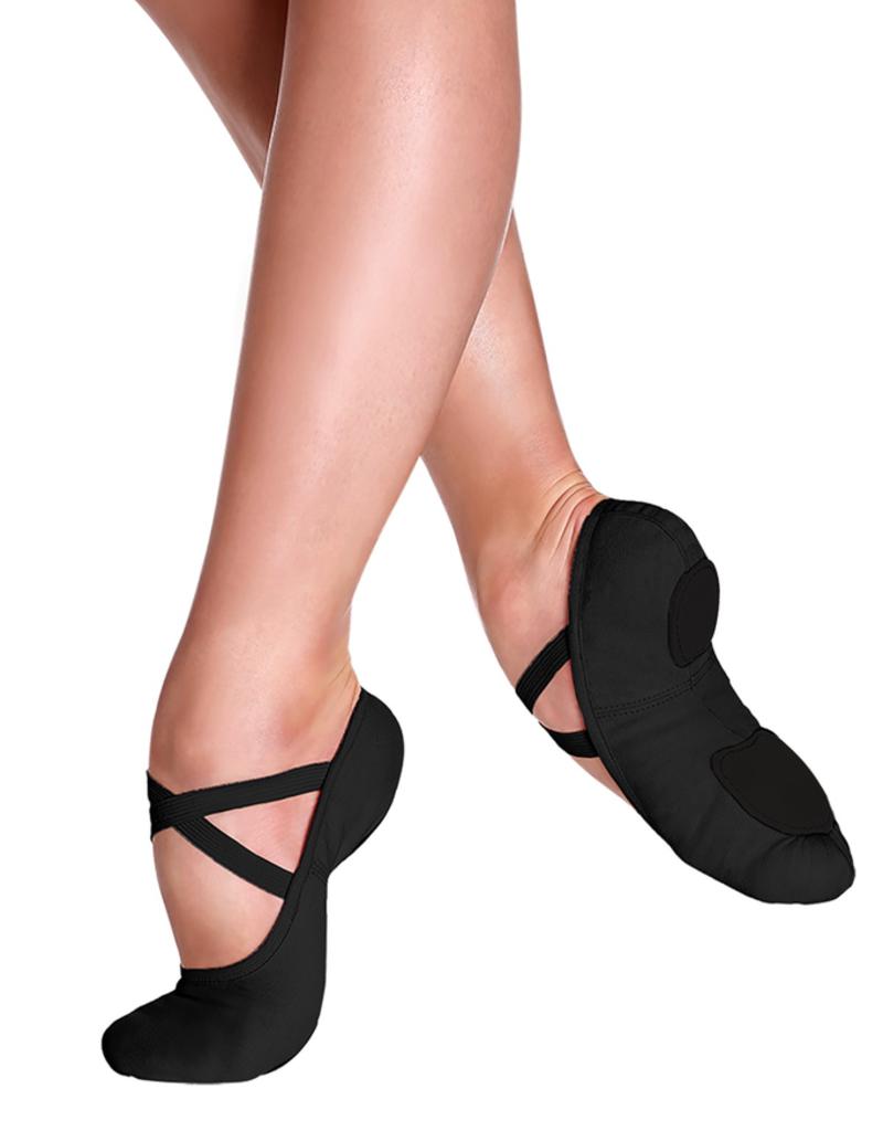 So Danca SD16L Black Canvas Ballet Shoe
