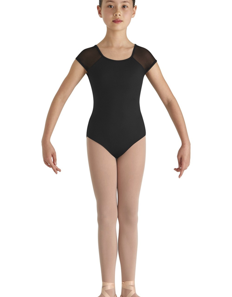 Bloch CL8682 Mesh Back Cap Sleeve Leo Youth