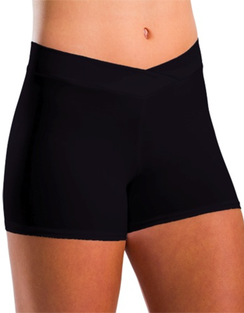 Motionwear 7113 V-Waist Shorts (2 3/4 in. Inseam) Adult