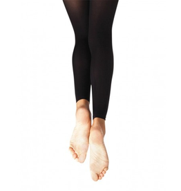Capezio 1817X (2-6) Ultra Soft Footless Tights Toddler