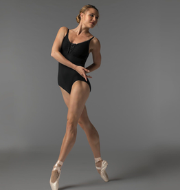 So Danca RDE-1714ME So Danca Sara Mearns Collection Cami Leotard W/Mesh Insert Adult