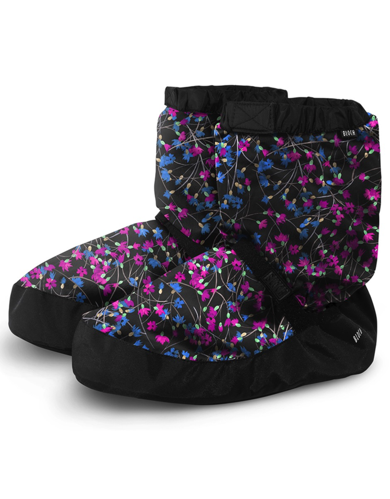Bloch IM009P-18 Warm Up Booties in NEW Limited Edition Prints