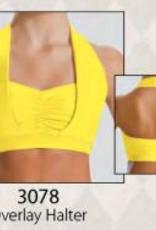 Motionwear 3078-A Adult Halter Bra Top